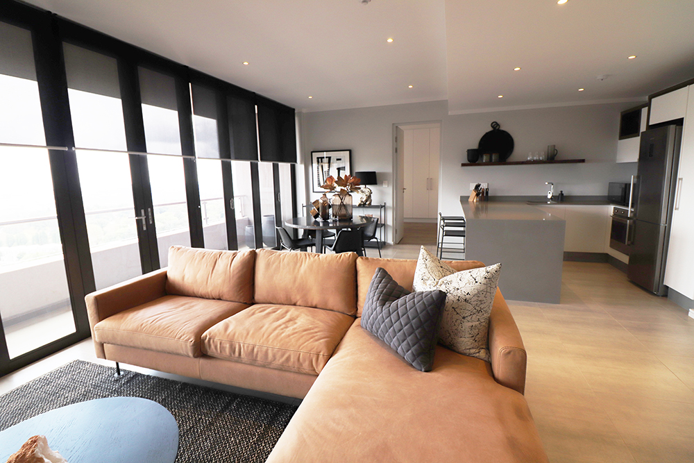 A Gorgeous Design Installed In An Apartment In The Heart Of Johannesburg